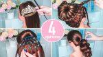 ⭐TOP4⃣⭐ Прически для Девочек на Утренник/Выпускной в Садик Пошагово⭐ 4 Hairstyles for Girls⭐