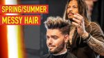 Mens Spring/Summer Messy Haircut & Hairstyle | Cool Modern Mens Hair 2019