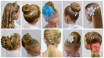 10 EASY Beautiful ELEGANT Hairstyles for PARTY | Natural Hairstyles | Collection Party hairstyles#11