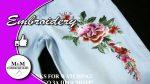 Embroidery on tne jeans | Вышивка на джинсках