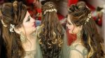Party Hairstyle For Beginners Using Extensions by Prabha Makeover