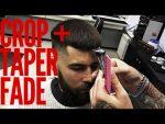 Мужские стрижки !Crop +Taper Fade