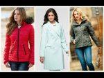 Модные  женские куртки осень — весна  2016 года