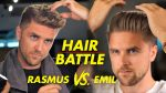Quiff hairstyle vs Slickback — Mens hair 2019 Revolution