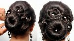 Easy and Cute Hairstyle for wedding || Beautiful heatless hairstyle for girls || Hairstyles