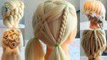 Топ 5 Самые модные прически в школу для детей / Шаш үлгілері — шаш өру easy hairstyles for school