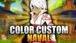 Color Custom Naval! New Items! AQW