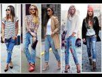 Креативные и модные джинсы
