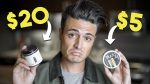 $5 Vs. $20 Hair Product — What's the difference? | Mens Hair Worth It