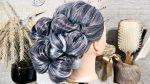 Причёска собранная на резинках | Лена Роговая | Hairstyles by REM | Copyright ©
