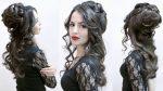 Причёска на Новый год | Авторские причёски | Лена Роговая | Hairstyles by REM | Copyright ©