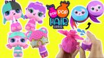 Pop Pop Hair Surprise Toy Unboxing! SPRAY with Water for a POP Surprise + Pet Hair Accessories
