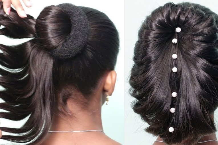 Most Beautiful hairstyles for long hair party/Wedding | New Hairstyles 2019  | Easy hairstyles girls