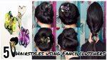 5 Hairstyles Using Fancy Clutchers   Clutcher Bun Hairstyles