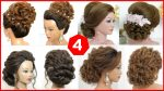 4 Latest Girls Hairstyles For Wedding, Party. Long Hair Styles 2020.