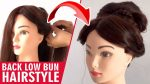 New latest hairstyle 2020 | latest updo hairstyle for medium hair | back low bun hairstyle