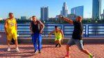 AronChupa & Little Sis Nora – The Woodchuck Song — Shuffle dance 4-in-1