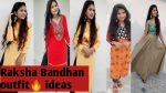 रक्षाबंधन outfit ideas ll 2020 ll Rakhi look ll every girl should know this ll indian vlogger ritika