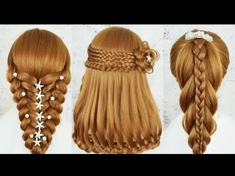 Different wedding party hairstyles ideas  || hairstyle girl | easy Beautiful Hairstyles
