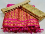 Assam Muga Saree Collections    Pure Silk Golden Muga Silk Saree fashion