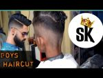 S.B experiment how to new hairstyle cutting 2020 one side hair cutting looking