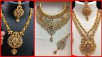 Most attractive fancy jewellery/new classic gold bridal jewellery design