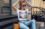 Какие женские футболки сейчас в моде?